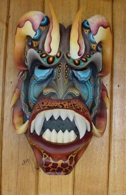 Mask Boruca