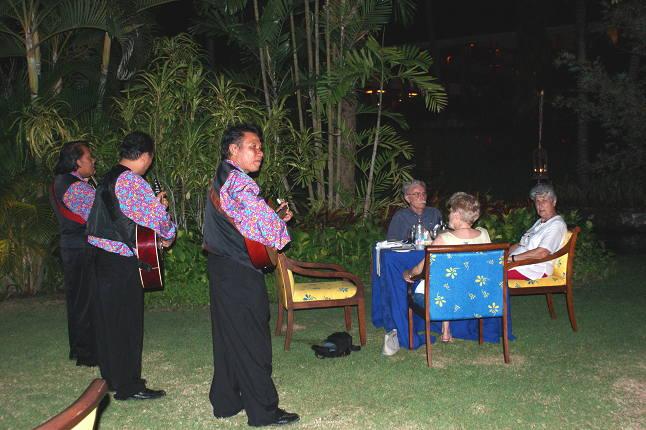 Musiciens au Melia