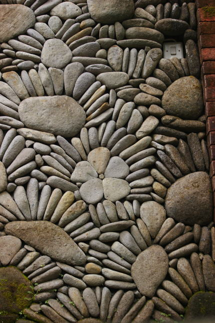 Un mur original, détail