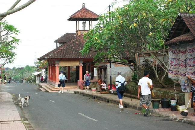 Arrivée à Ubud