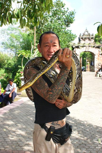 Le dresseur de serpent