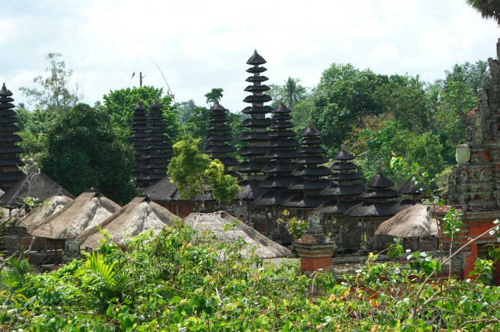 Vue de la Tour de Pura Taman Ayun