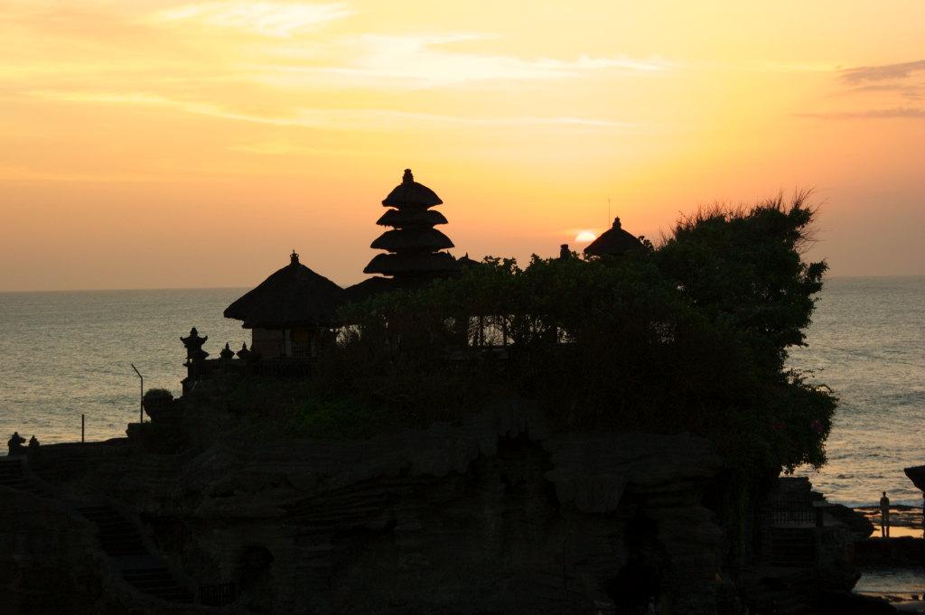 Coucher de soleil au Pura Tanah Lot