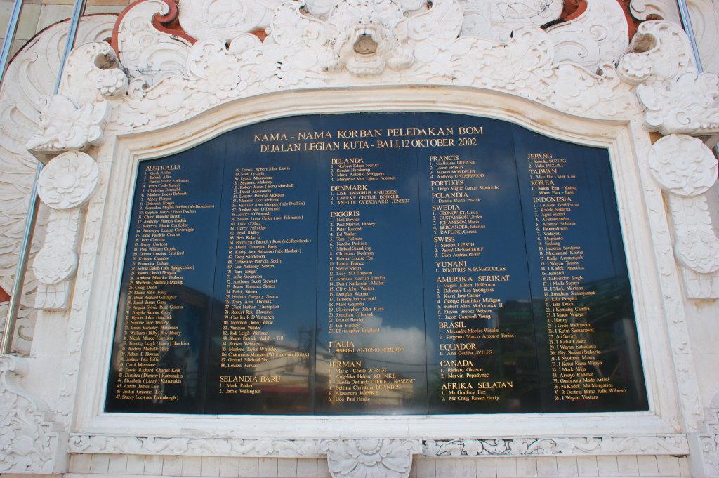 Liste des victimes du 12 octobre 2002