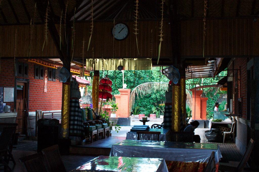 Restaurant sur la plage de Kuta