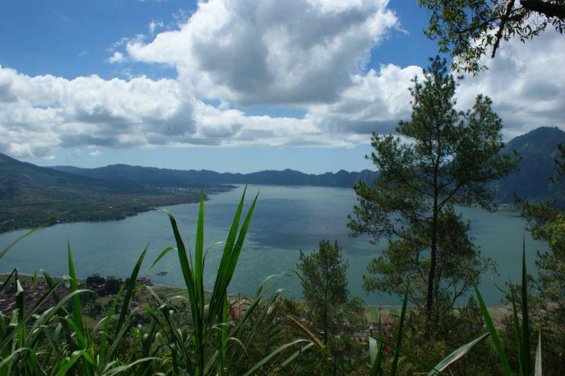Lac et Mont Batur