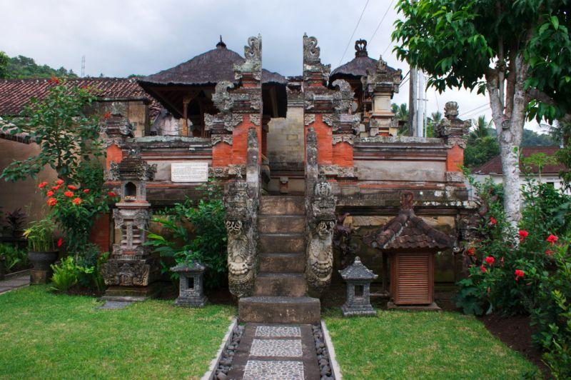 Temple de l'Hôtel Puri Bagus, Manggis,