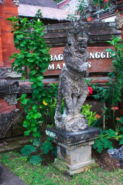 statue,Puri Bagus, Manggis,