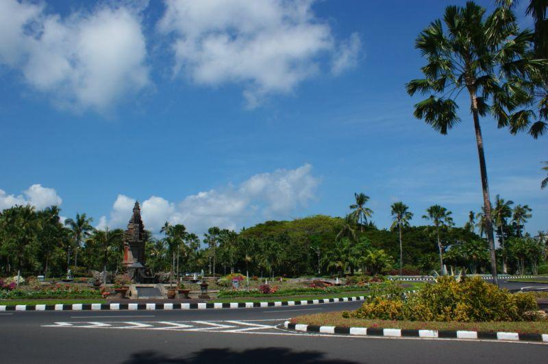 Rond point  de Nusa Dua