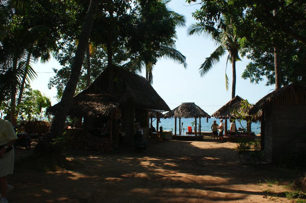 Restaurant de plage au nord