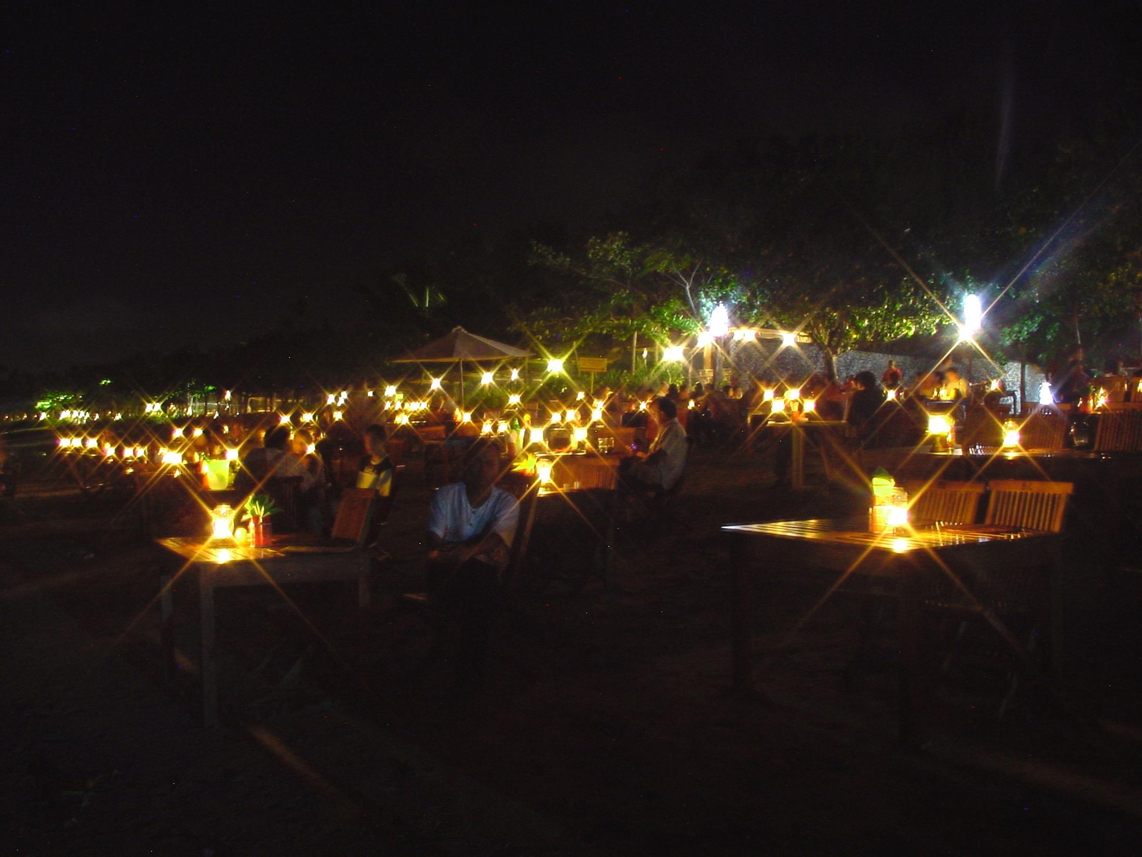 Diner plage de Jimbaran