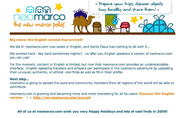 Neomarco en anglais