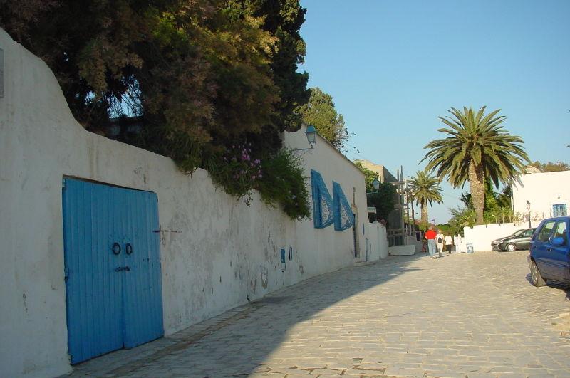 Sidi Bou Said, vers la terrasse