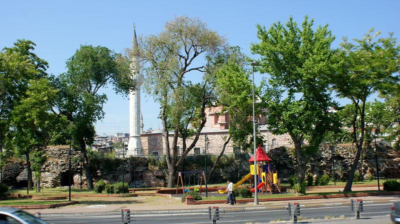 Jardinet et Minaret