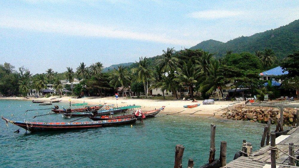 Plage à Koh Tao